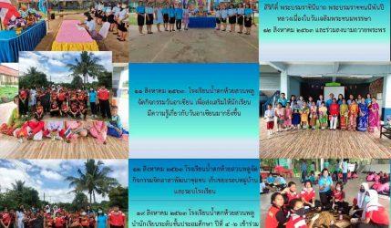 จดหมายข่าวโรงเรียนน้ำตกห้วยสวนพลู ฉบับที่ 12 ประจำเดือน สิงหาคม 2563